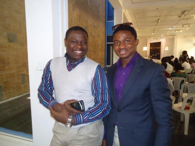 The King, Oba Tunde Leye and my humble self