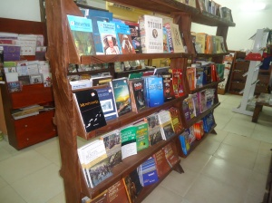 I visited the bookshop at Terra Kulture
